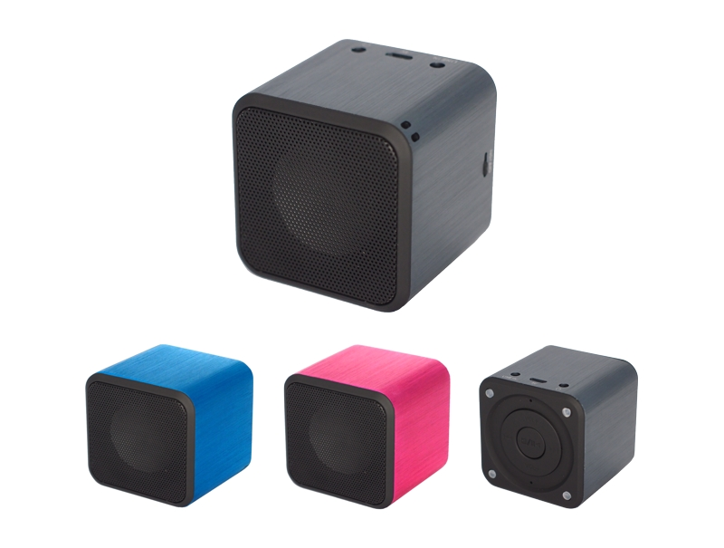 Kompakter Design Mini Lautsprecher (bass+) S-X10E mit Wireless BT