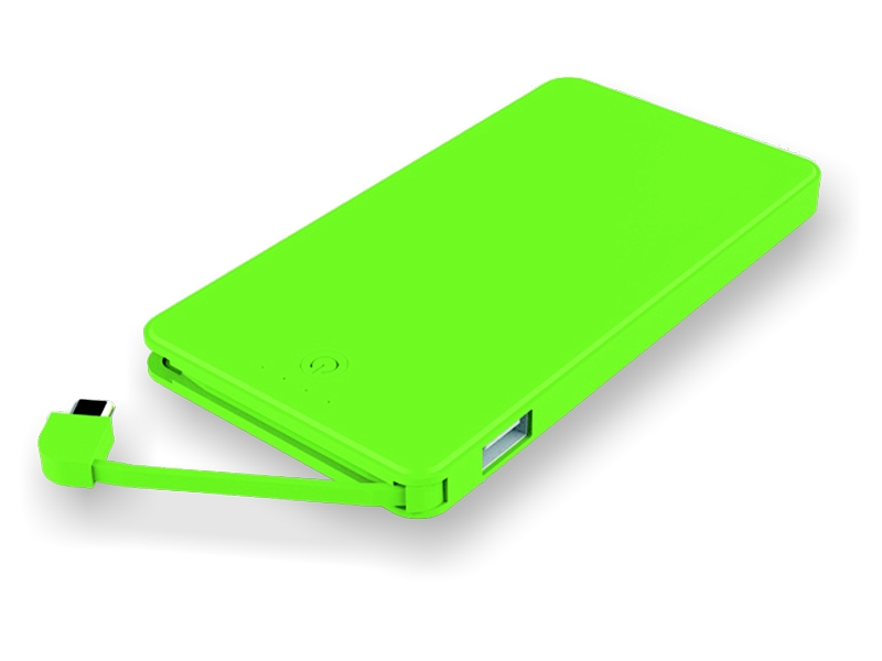 Mobile Charger POWERPACK SLIM with High-Performance Battery