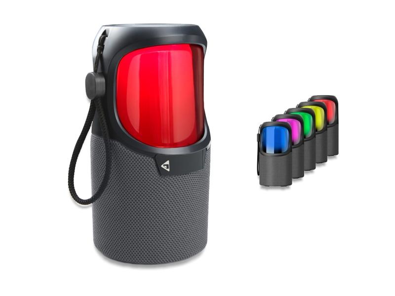 360° Outdoor Speaker S-Bean S with Wireless BT and LED RGB Light Effects