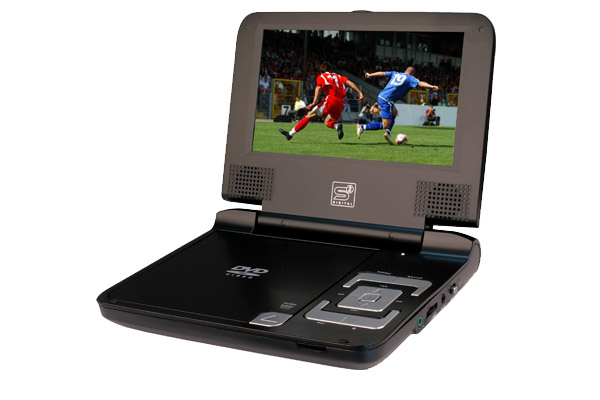 Portabler DVD-Player DVD P1 close
